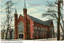 Image of Trinity Methodist Episcopal Church, Evansville, Indiana, ca. 1909