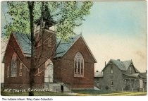 Image of Methodist Episcopal Church, Advance, Indiana, ca. 1915