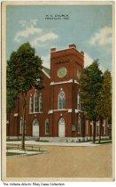 Image of Methodist Episcopal Church, Franklin, Indiana, ca. 1917 -