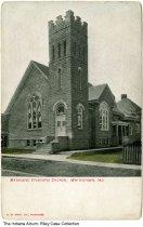 Image of Methodist Episcopal Church, Whitestown, Indiana, ca. 1910 -