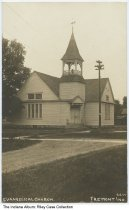 Image of Evangelical Church, Fremont, Indiana, ca. 1910 -