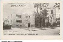 Image of Simpson Methodist Church, Fort Wayne, Indiana, ca. 1954 -  Postmarked October 13, 1954.