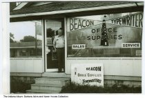 Beacon Typewriters and Office Supplies, Indianapolis, Indiana, circa 1990