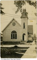 Image of Methodist Episcopal Church, Fowler, Indiana, ca. 1910 -