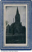 Image of Church in Union City, Indiana, ca. 1909 - Postmarked 1909.