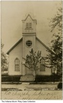 Image of Methodist Church, Lynn, Indiana, ca. 1910 -