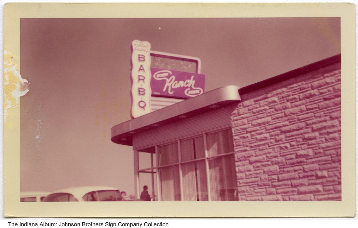 The Hobby Ranch House Restaurant Fort Wayne Indiana Circa