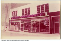 Image of Platt Pharmacy, Fort Wayne, Indiana, ca. 1960 - This location may be at the western most end of the original Time Corners Shopping Center, located at 5976 West Jefferson Street.
