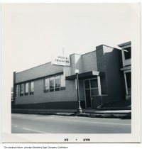 Image of Lincoln Engravers, Inc., Fort Wayne, Indiana, 1964 - The photo was stamped Mar 64.