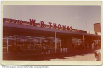 Image of W. R. Thomas 5 and 10 cent store, Indiana, ca. 1960 - W. R. Thomas five and dime stores were located in Warsaw, Angola, Syracuse, and LaGrange, as well as Michigan and Ohio. [This is not the Warsaw store.]