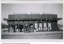 Image of Foodtown Super Market, Indiana, ca. 1955