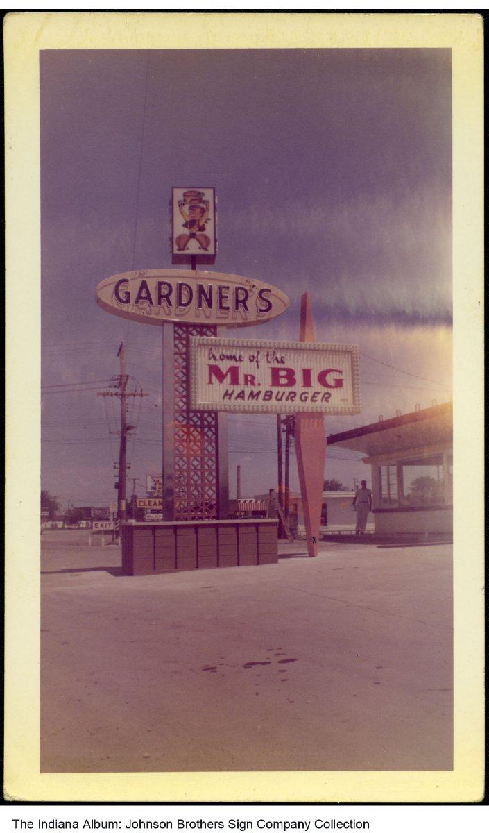 Gardner S Drive In Restaurant Fort Wayne Indiana Circa