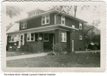 "Image of House at 1015 Main Street, Beech Grove, Indiana, ca. 1940  - On the back is written ""1015 Main Street""."