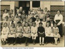 Image of Beech Grove school children, Beech Grove, Indiana, ca. 1915