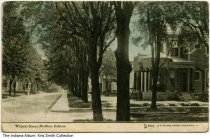 Image of Wabash Street, Bluffton, Indiana, ca. 1911 - Postmarked 1911.