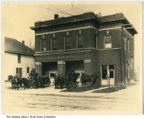 Image of Fire Station No. 27, Indianapolis, Indiana, ca. 1905
