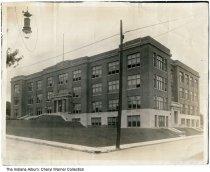 Image of Huntington High School, Huntington, Indiana, ca. 1950