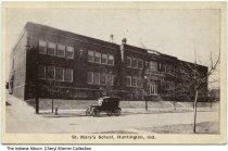 Image of St. Mary's School, Huntington, Indiana, ca. 1920