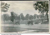Image of Cars on East Jackson Boulevard, Elkhart, Indiana, 1919 -