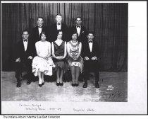 Image of Earlham College Debating Team, Richmond, Indiana, 1928-1929