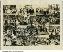 Image of Chas. Drexler Co. picnic, Indianapolis, Indiana, ca. 1945
