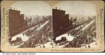 Image of Funeral cortege for Benjamin Harrison, Indianapolis, Indiana, 1901