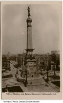 Image of Soldiers' and Sailors' Monument, Indianapolis, Indiana, ca. 1900