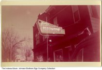 Image of Sign for Scotty's Restaurant, South Whitley, Indiana, ca. 1965 -