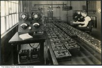 Prest-o-Lite batteries factory, Indiana, circa 1930
