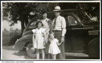 Image of Family at Jewett-Yunker Farm, Bringhurst, Indiana, ca. 1940