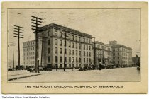 Methodist Episcopal Hospital, Indianapolis, Indiana, circa 1924