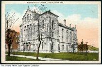 Image of Roberts Park Church, Indianapolis, Indiana, ca. 1930