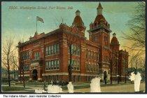 Image of Washington School, Fort Wayne, Indiana, ca. 1900