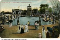 Image of South end of Wonderland, Indianapolis, Indiana, ca. 1905 - Postmarked March 15, 1910.