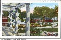 Image of Irwin Gardens, Columbus, Indiana, ca. 1957 - Postmarked November 12, 1957.