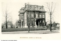 Image of Residence of John M. Butler, Indianapolis, Indiana, ca. 1885
