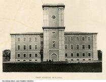 Image of Main Arsenal Building, Indianapolis, Indiana, ca. 1885
