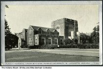 Image of Purdue Student Union building, West Lafayette, Indiana, ca. 1930 - Postmarked February 8, 1915.