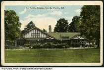 Image of Lafayette Country Club, Lafayette, Indiana, ca. 1917 - Postmarked November, 1915.