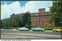 Image of Lafayette Home Hospital, Lafayette, Indiana, ca. 1969 - Postmarked June 6, 1969.