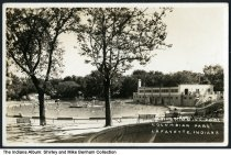 Image of Swimming Pool at Columbian Park, Lafayette, Indiana, ca. 1930