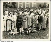Image of Schildmeier Family at Brookside Park, Indianapolis, Indiana, ca. 1940