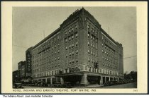 Image of Hotel Indiana and Emboyd Theatre, Fort Wayne, Indiana, ca. 1935