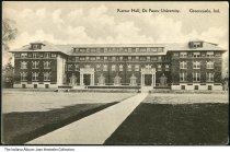 Image of Rector Hall, DePauw University, Greencastle, Indiana, ca. 1915