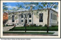 Image of Albert A. Wells Memorial Library, Lafayette, Indiana, ca. 1930