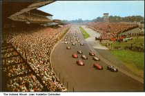 Image of Race at Indianapolis Motor Speedway, Speedway, Indiana, ca. 1965