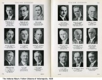 "Image of Page 60-61 of ""Fellow Citizens of Indianapolis"", Indianapolis, Indiana, 1926 - Page 60-61 of ""Fellow Citizens of Indianapolis"" includes images of WIlbourne B. Cox, Edwin M. Craft, H. L. Craig, Jerre R. Crawford, O. E. Crawford, Samuel H. Creighton, Clifford B. Creis. J. C. Crim, C. E. Crippen, R. F. Crom, Walter Crooke, CHarle M. Cross, Harry E. Cross, CLaude Crowder, F. N. Crowell, J. S. Cruse, Dr, Raymond E. Culver, George G. Cunningham."