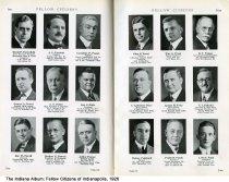 "Image of Page 196-197 of ""Fellow Citizens of Indianapolis,"" Indianapolis, Indiana, 1926 - Page 196-197 of ""Fellow Citizens of Indianapolis"" includes images of David P. Porterfield, A. L. Portteus, Cornelius F. Posson, George A. Poteet, A. T. Potter, George J. Potts, Rae W. Powell, Herbert G. Powers, Ashley Poynor, John G. Praed, William G. Praed, D. T. Praigg, C. Lawrence Price, Lyman Price,  C. J. Prinzler, Walter Pritchard, Frank H. Prunk, I. Watt Pugh."