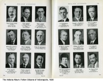 """Image of Page 230-231 of """"Fellow Citizens of Indianapolis"""", Indianapolis, Indiana, 1926 - Page 230-231 of """"Fellow Citizens of Indianapolis"""" includes images of Edgar George Spink, E. R. Spooner, John J. Spotts, Edward W. Springer, John C. Springer, Robert E. Springsteen, W. K. Sproule, Claude C. Spurrier, Dr. Carl B. Sputh, A. V. Stackhouse, Donald A. Stackhouse, Earl E. Stafford, La Roy W. Stafford, Willliam H. Stafford, F. D. Stalnaker, Marie Stansbury, Paul Stark, Dr. William Stark."""
