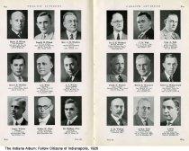 "Image of Page 260-261 of ""Fellow Citizens of Indianapolis,"" Indianapolis, Indiana, 1926 - Page 260-261 of ""Fellow Citizens of Indianapolis"" includes images of Harry R. Wilson, Lowell H. Wilson, Rev. C. H. Winders (Northwood Christian Church), Henry H. Winkler, L. G. Winn, A. S. Winter, Lester Winter, Walter W. Wise, Dr. William Wise, Dr. E. E. Wishard, C. H. Witt, Ivan A. Witt, Frank F. Wocher, Henry F. Woessner, Albert J. Wohlgemuth, E. H. Wolcott, Arthur Wolf, I. Wolf."
